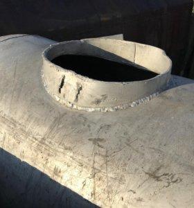 Алюминиевая ёмкость на 500 литров