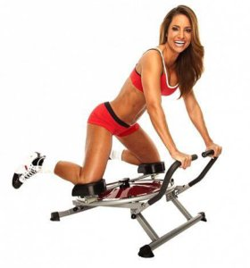 Тренажёр для мышц живота круговой маятник