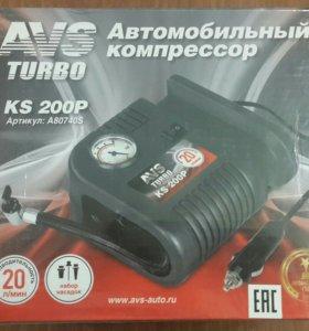 автомобильный компрессор Ave turbo is 200p