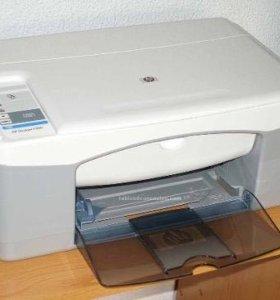 Принтер МФУ HP Deskjet F380 цветной