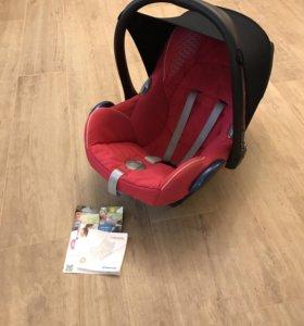 Автокресло maxi cosi для новорождённых автолюлька
