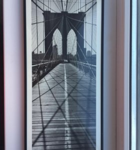 Постер в раме под стеклом