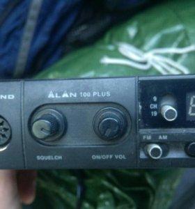 Рация Midland Alan 100 Plus + антенна