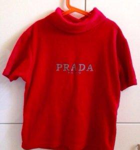 Флисовая футболка