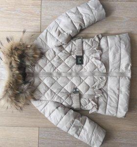 Куртка стёганая на девочку
