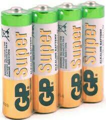 Батарейки GP alkaline battery AAA 1.5 V