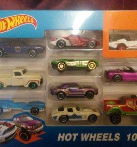 Новый набор HOT WHEELS 10 машин