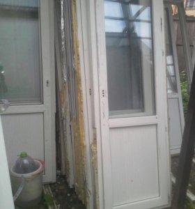 Двери балконые