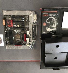 Нерабочая материнская плата MSI Z77A-GD65 Gaming