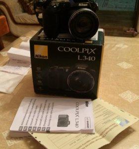 Фотоаппарат Nikon coolpix L340 Новый