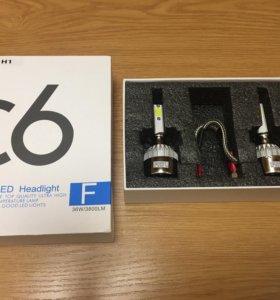Светодиодные лампы в автомобиль H7, H1