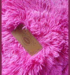Меховой плед -покрывало ( травка , мишка, волосатик ) 220х240
