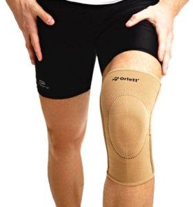 Бандаж на колено с фиксирующей подушкой и ребрами