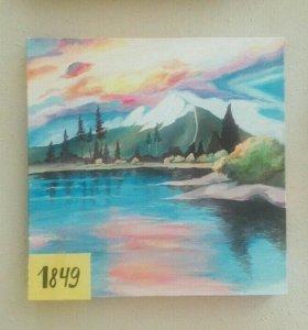 """Картина """"Яркий пейзаж"""""""