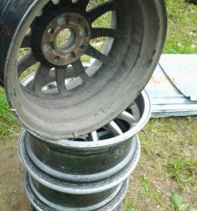 Диск колёсный R15 4×108 ауди