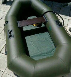Лодка надувная гребная из пвх ткани Жемчужина 220G