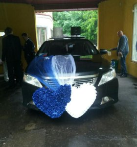 Свадебные аксессуары на машины