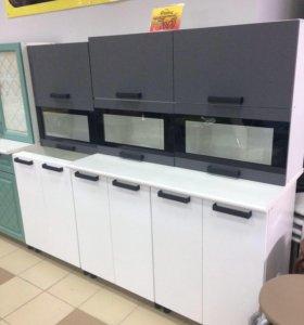 Кухня Фиджи 1,8 комплектация 1 (графит/белый)