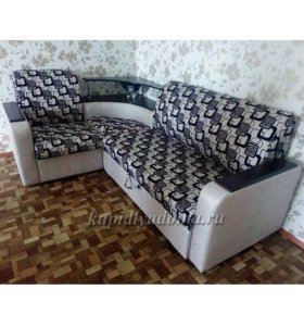 Магнолия угловой диван-кровать