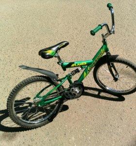 Подростковый велосипед не убиваемый