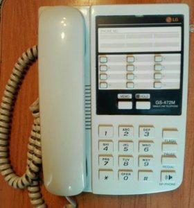 Телефон стационарный LG GS-472M