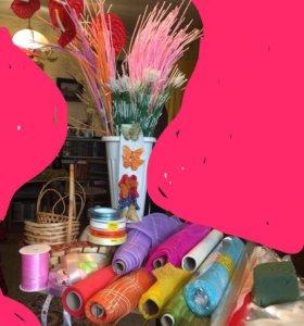 Аксессуары цветочного магазина