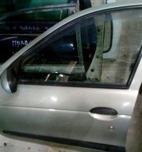 Renault megane classic дверь левая передняя задняя