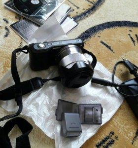 Цифровая фотокамера SONY NEX-3 Aльфа