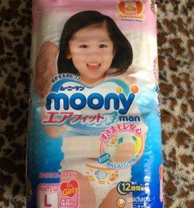 Новая упаковка трусовков Moony