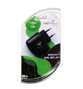 СЗУ VERTEX MINI USB Motorola/HTC/GPS/MP-3