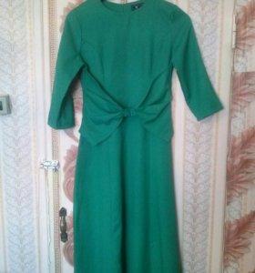 Платье в пол. Почти новое одето 1 раз