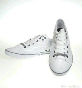 Zara белые кеды новые (есть размеры)