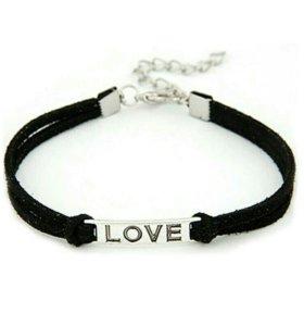 Браслет Love /подарок