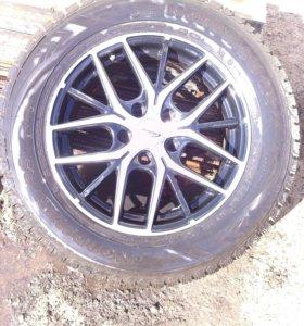 Колеса NORDMAN RS с литыми дисками