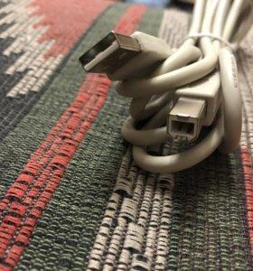 Кабель USB 2.0- USB B
