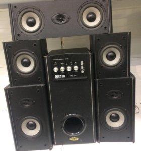 Мультимедийная акустика SVEN 5.1