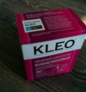 Клей для флизелиновых обоев Kleo 200гр