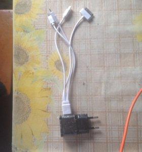 Юсб кабель с 4 шнурами