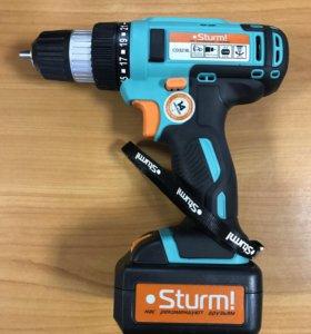 Дрель аккумуляторная Sturm CD3218L