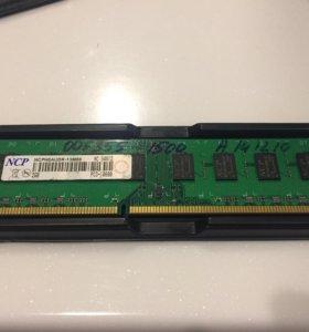 Модуль памяти DDR3 2GB PC3-10600 1333MHz