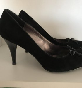 Туфли, замша