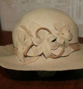 Шляпа весна-осень👒