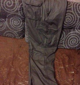Продам фирменные брюки новая вещь размер 54-56 хб