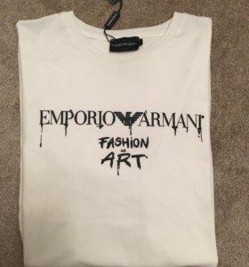Новая футболка Armani  XXL