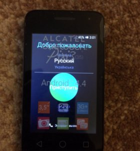 Смартфон Alcatel Pixi3
