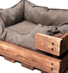 лежанка-домик для небольших собак и кошек