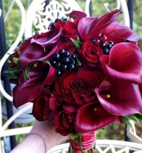 Букет невесты,фруктовые букеты,цветы на любой день