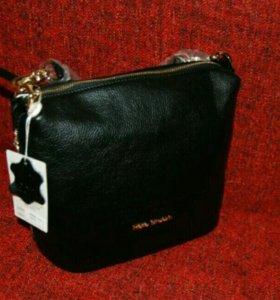 Новая Fiato dream сумочка из натуральной кожи