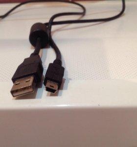 PS3 кабель для зарядки джойстика
