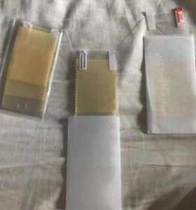 Защитная плёнка на передний экран iPhone 5/5 s
